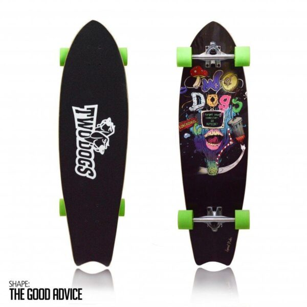 Longboard Speed Rider D3 Two Dogs