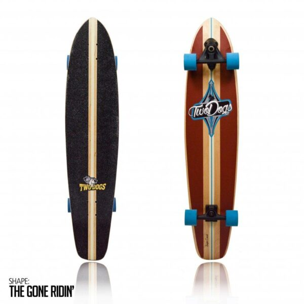 Longboard Super Carve D2 Two Dogs