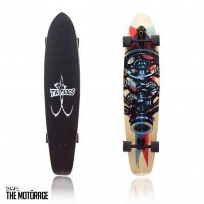 Longboard Super Carve D3 Two Dogs
