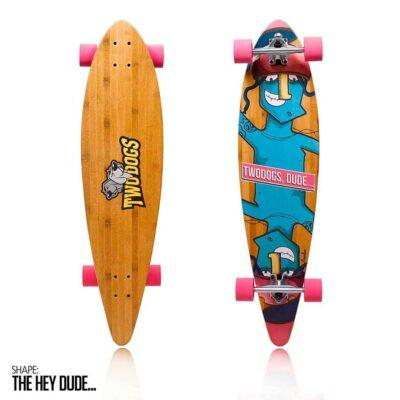 LONGBOARD TWO DOGS BAMBU D3