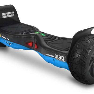 HOVERBOARD TWO DOGS MONSTER AZUL CARBONO