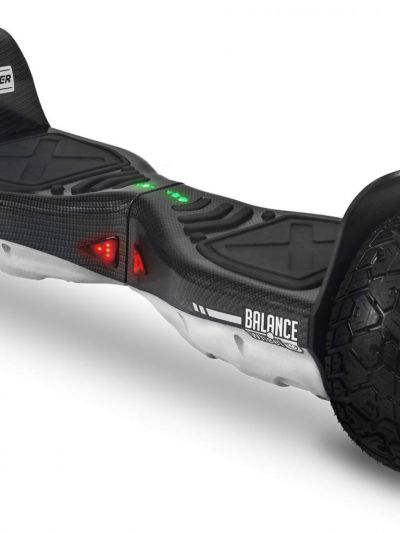 HOVERBOARD TWO DOGS MONSTER BRANCO CARBONO