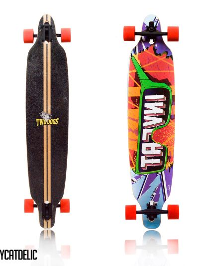 LONGBOARD TWO DOGS INVERT D3