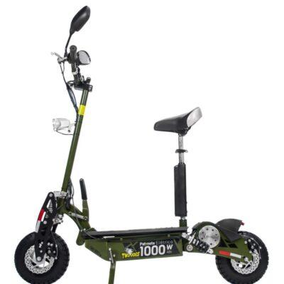 PATINETE ELÉTRICO TWO DOGS 1000W 48V VERDE OLIVA