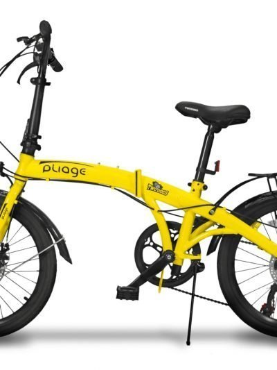 BIKE DOBRÁVEL PLIAGE PLUS TWO DOGS AMARELO