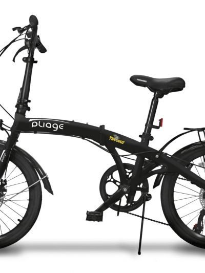 BIKE DOBRÁVEL PLIAGE PLUS TWO DOGS PRETO