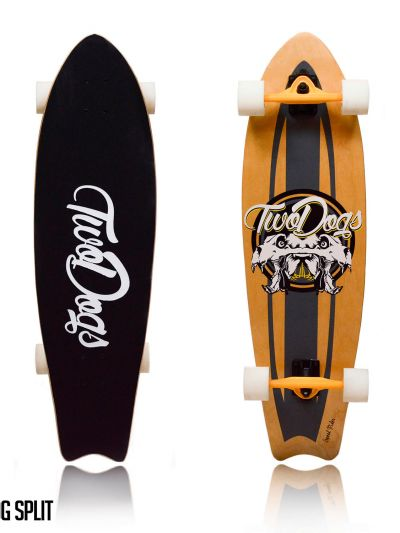 LONGBOARD TWO DOGS SPEED RIDER D2