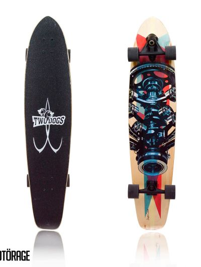 LONGBOARD TWO DOGS SUPER CARVE D3